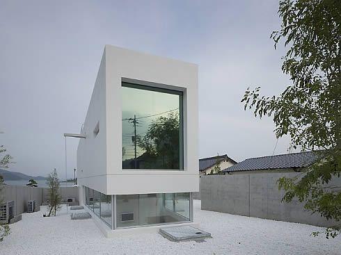 Modern White Sea House Freshome Com Architecture House By The Sea Minimalist Architecture