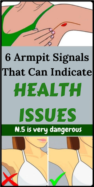 6 Armpit Signals That Can Indicate Health Issues | Women
