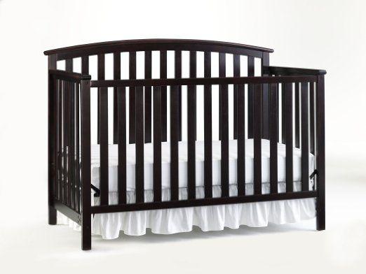 Amazon.com : Graco Freeport Convertible Crib, Cherry ...