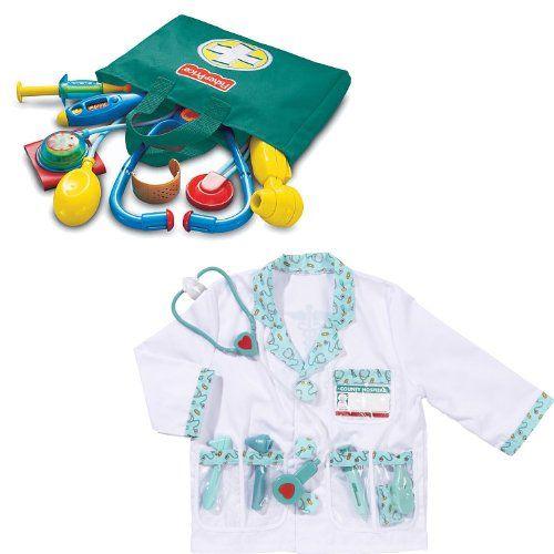 Fisher Price Kids Medical Kit And Melissa And Doug Doctor