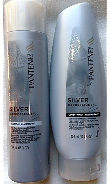 Pantene Silver Expressions Daily Color Enhancing Shampoo And