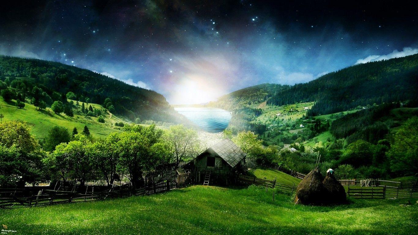 3D HD Wallpapers Nature Naturbilder, Bilder
