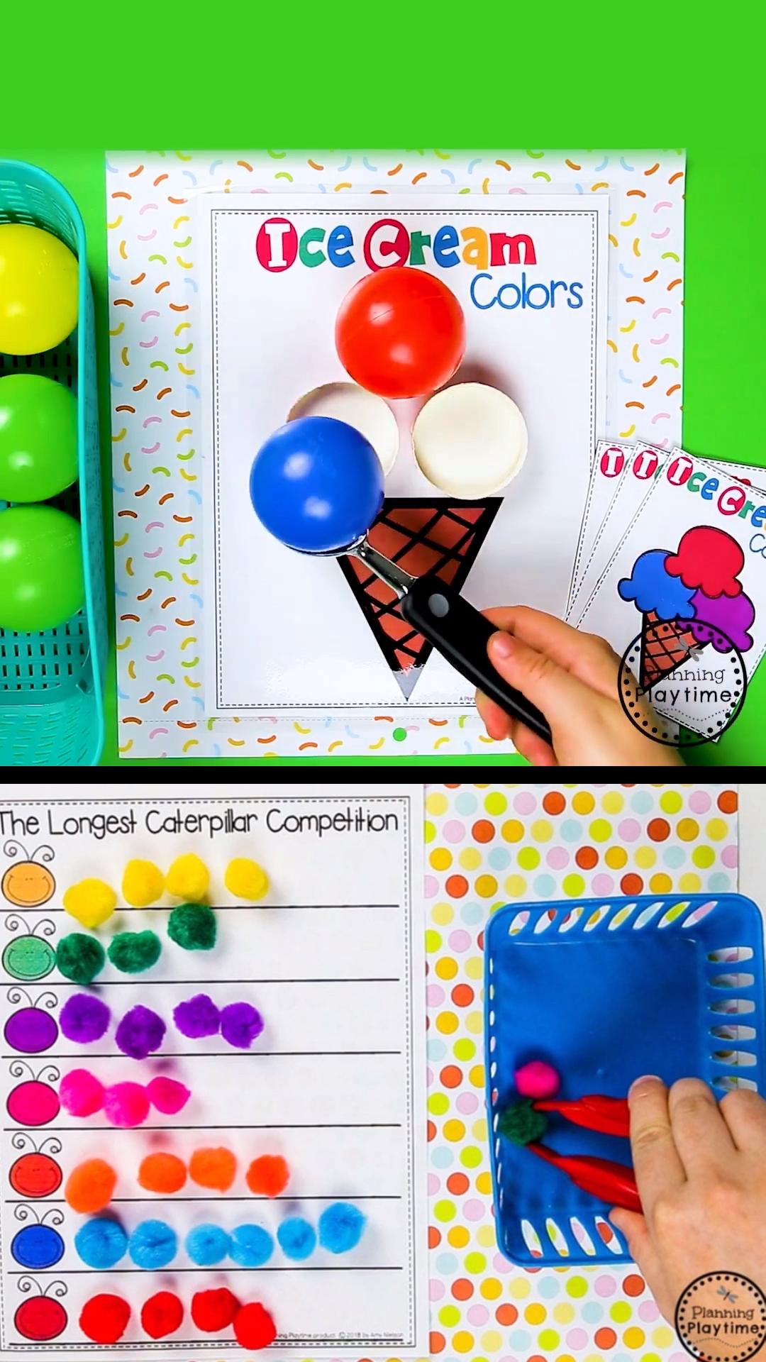 Preschool Color Learning Activities Preschoolers