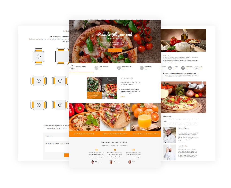 Mia Ittalloni Free Wordpress Restaurant Theme Freebies