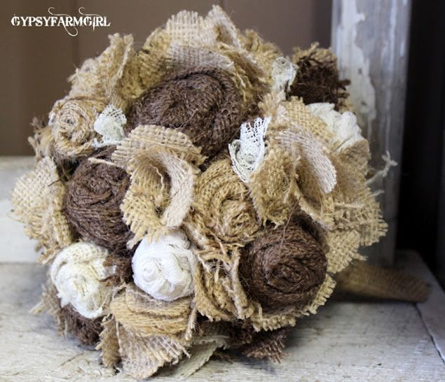 i have the tutorial for the burlap flowers pinned somewhere... maybe ...