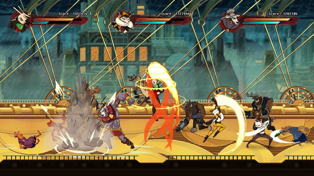 Side Scrolling Fighter Dusty Raging Fist Is Punching Its Way To The Wii U Eshop This Year Game Inspiration City Art Fighter