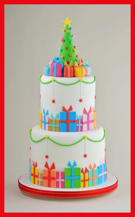 Christmas Parcel Cake | Cakes Beautiful Cakes for the Occasions
