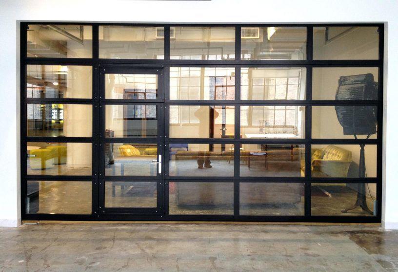 Glasspassingdoor Full View Aluminum Glass Garage Door With Passing Garageroll Upgarage Windows Inserts Replacement