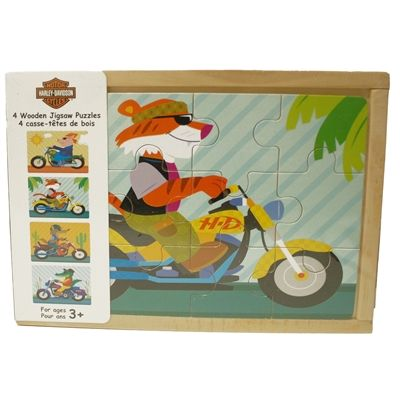Harley Davidson Wooden Puzzles Wooden Jigsaw Puzzles Harley Davidson Kids Wooden Jigsaw