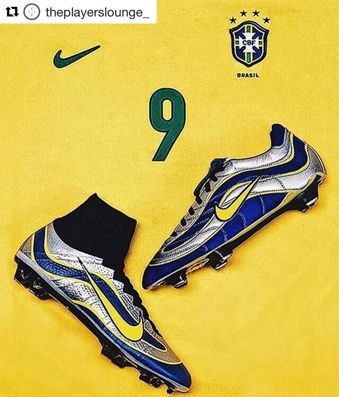 new product 6e04e c211a Best boot ever  theplayerslounge  R9.  ronaldo .  legend  icon  ronaldo   R9 footballshirtcollective