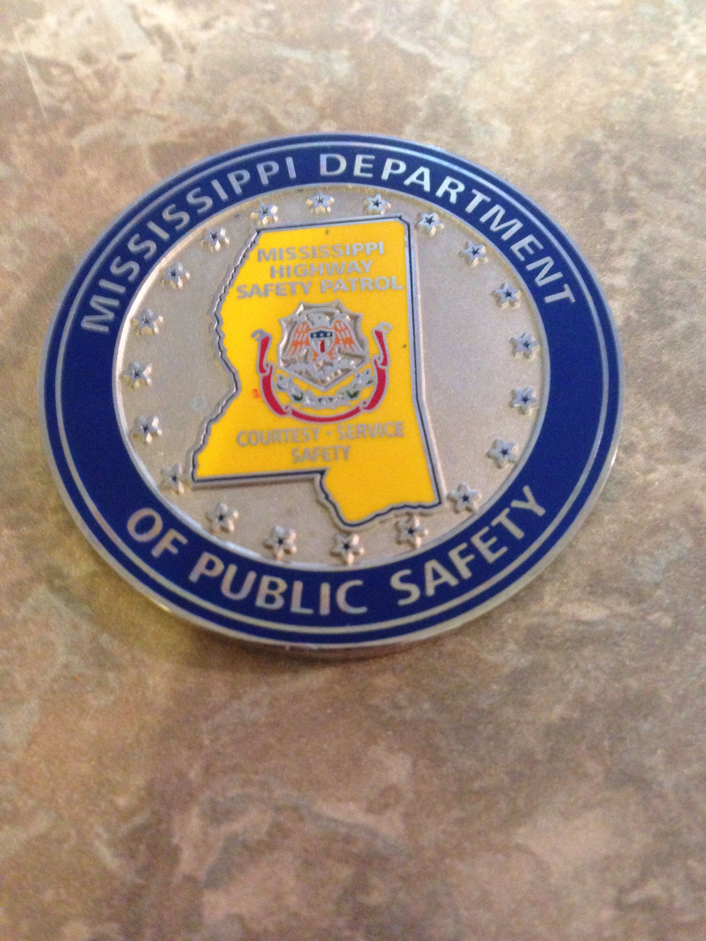Texas Department of Public Safety Capital Police Badge