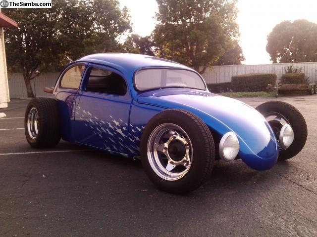 Ian roussel full custom garage custom garages vw and cars for Garage auto b2