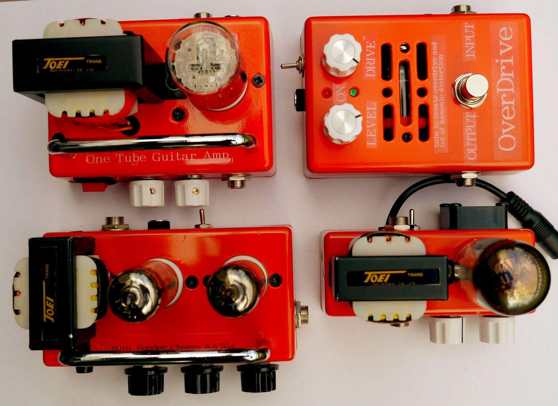 build a vacuum tube guitar amplifier vacuum tube overdrive pedal [ 1408 x 1024 Pixel ]