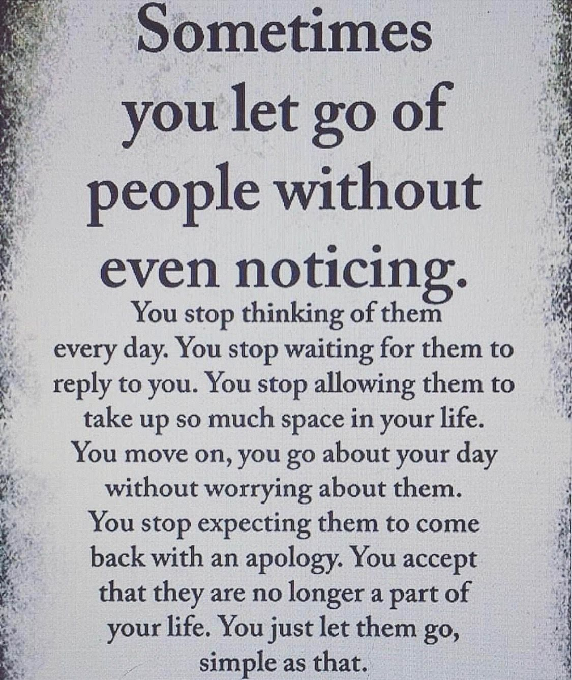 Pin By Ceallaigh On Letting Go Dd Letting People Go Daily Inspiration Quotes Time Quotes