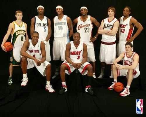 finest selection 80c45 175a4 2003 NBA Class  NBA  Pinterest  2003 nba draft, NBA and Nba