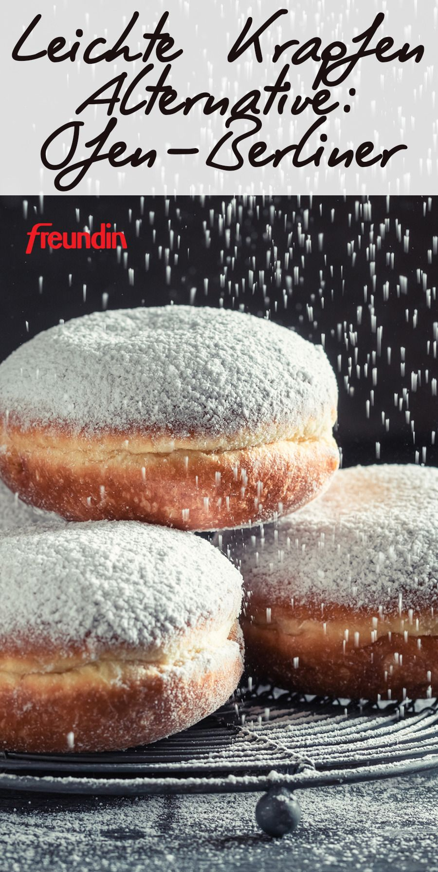 Photo of Light donut alternative: Ofen-Berliner   freundin.de