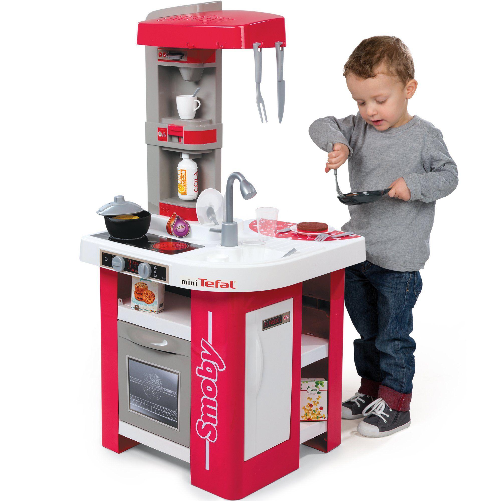 Smoby Kuchnia Elektroniczna Tefal Studio Patelnia Magiczny Garnek Brykacze Pl Internetowy Sklep Z Zabawkami Dla Dzieci Tefal Kitchen Cart Kitchen Appliances