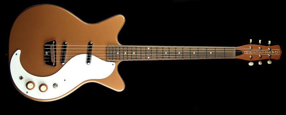 Danelectro '59 O Electric Guitar Original Copper The