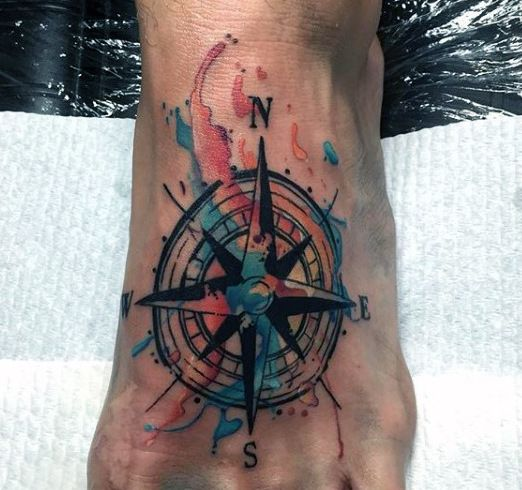 Top 63 Compass Tattoo Ideas 2020 Inspiration Guide Compass Tattoo Compass Tattoo Men Compass Tattoo Design