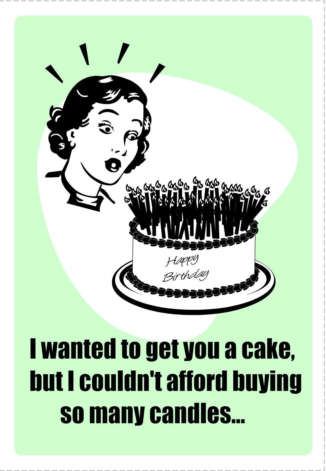 Birthday Card Humor