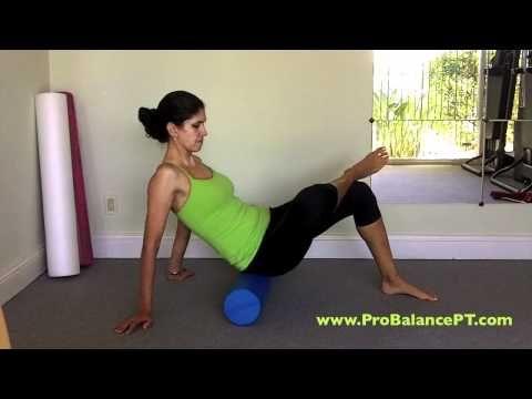 foam roller exercises lower body massage  youtube