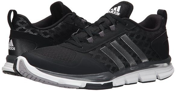 fcf0720a254 ... discount adidas performance mens speed trainer 2 training shoe black  white carbon metallic 11.5 m us