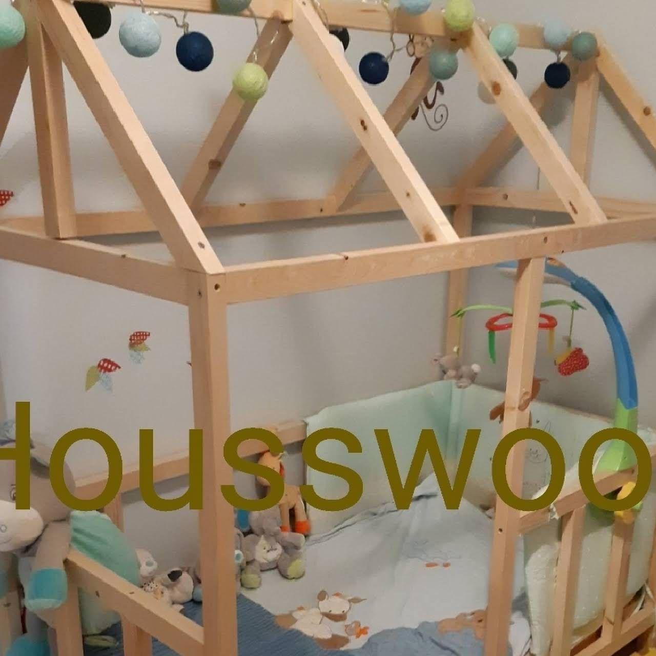 Housswood Lits Cabane Au Sol Inspiration Montessori En Bois Fabriques En France Chambre Enfant Mobilier De Salon Lit Cabane
