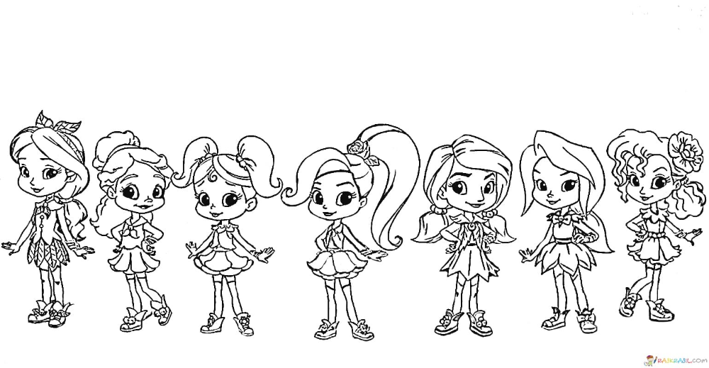 Coloring Pages Rainbow Rangers Print Little Sorceresses Coloring Pages Cute Dog Drawing Rangers Print