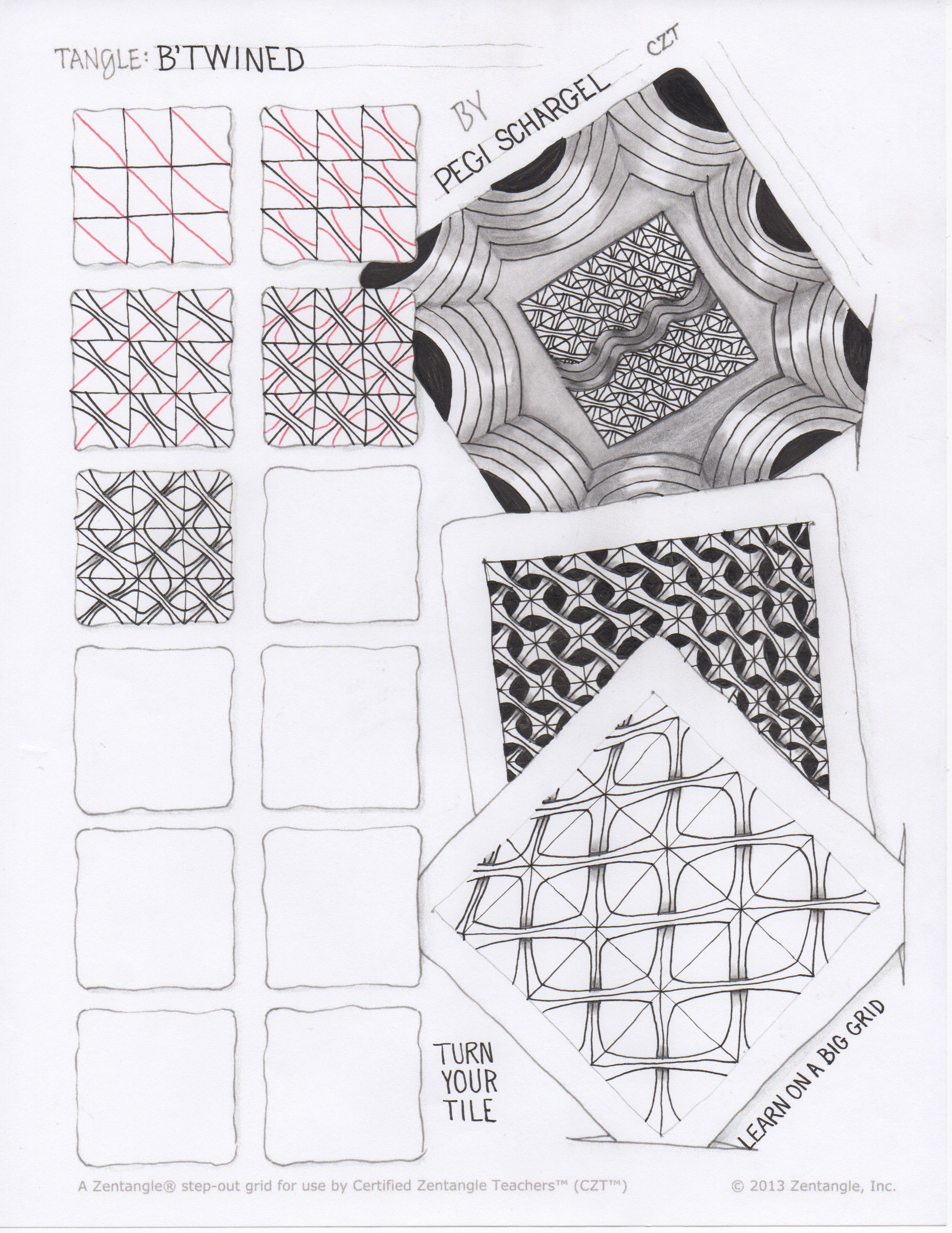 Zentangle Templates For Free Printing For 10