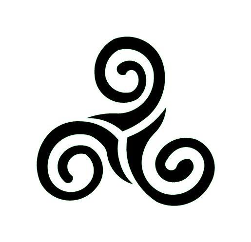 Triskell cosas que me gustan pinterest - Symbole celtique signification ...