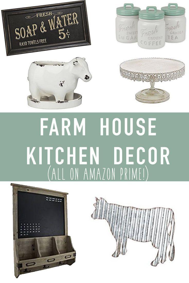 Farmhouse Kitchen Decor on Amazon | Farmhouse kitchen decor ...