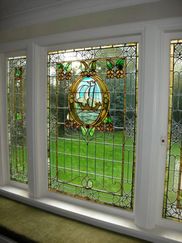 windows stained glass for a house - Google Search