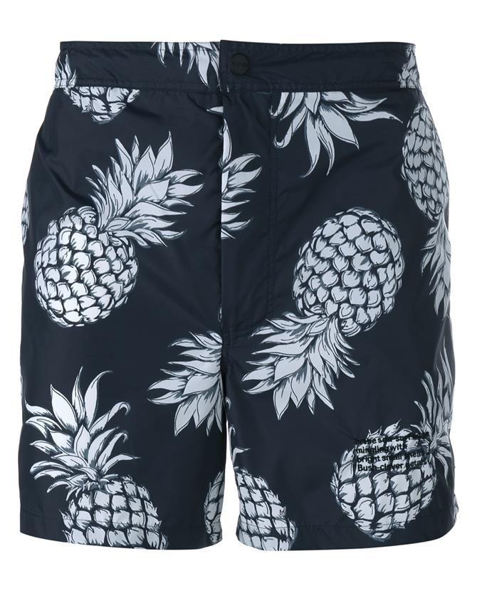 fcf5bc564f VALENTINO Pineapple Print Swimming Shorts. #valentino #cloth ...