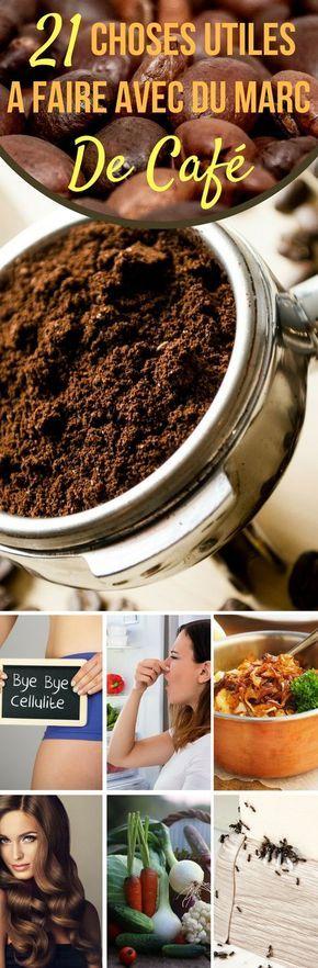 21 choses utiles a faire avec du marc de caf marc de cafe pinterest caf diy et utiles. Black Bedroom Furniture Sets. Home Design Ideas