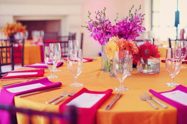 sangria and orange wedding colors - Google Search | Fall Wedding ...