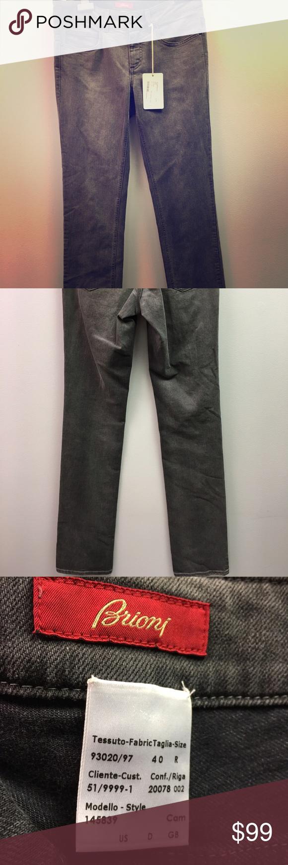 Brioni jean HUGE Discount Retail Price!!! Authentic Brioni Brand New // Cotton Brioni Jeans Skinny