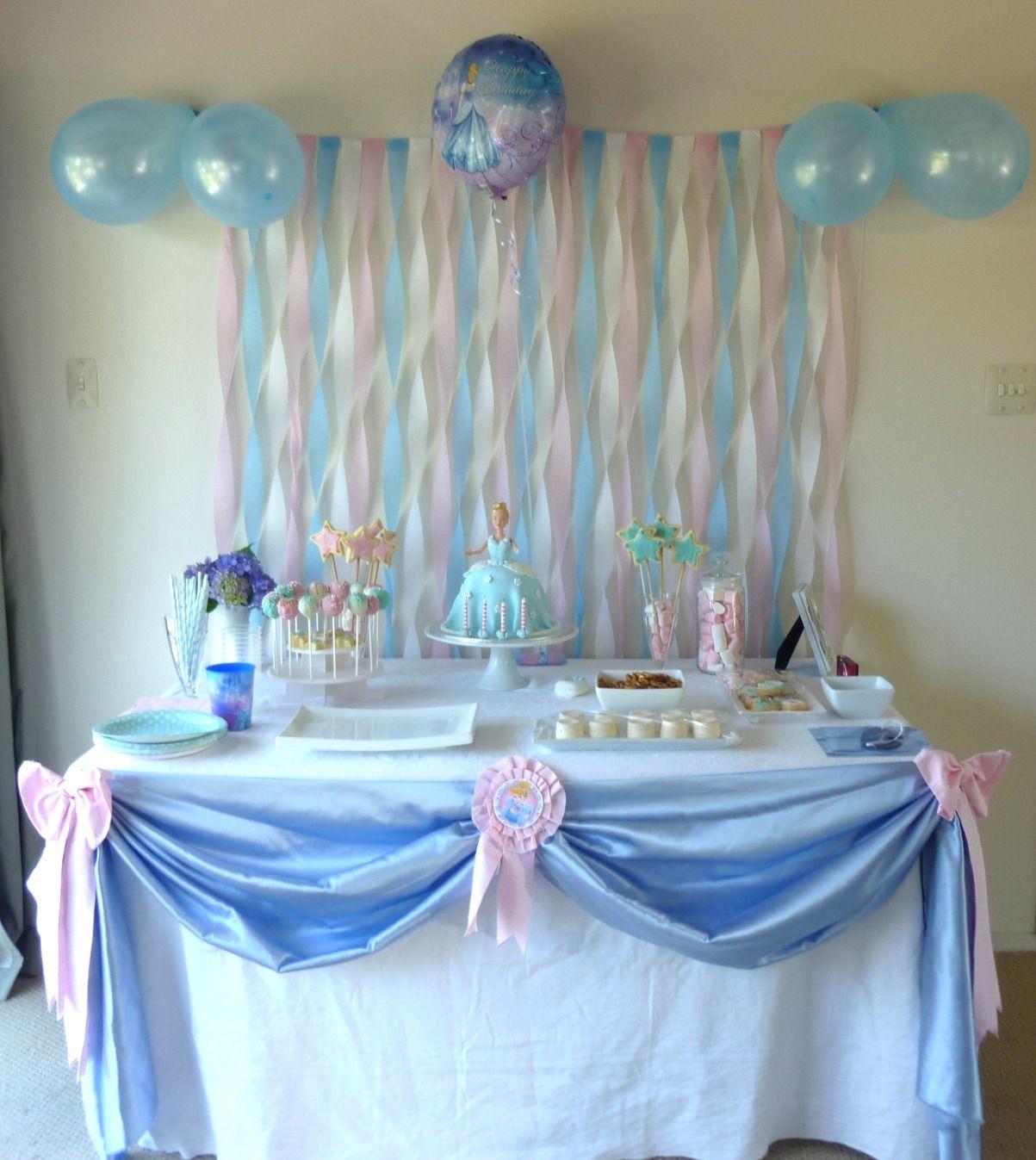 Cinderella Birthday Party Princess Party Cinderella Cake Doll C Cinderella Birthday Party Decorations Cinderella Birthday Party Cinderella Party Decorations
