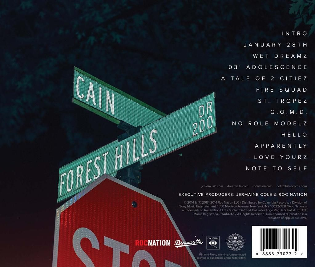 J cole reveals the album track list for 2014 forest hills drive j cole reveals the album track list for 2014 forest hills drive verge campus aloadofball Image collections