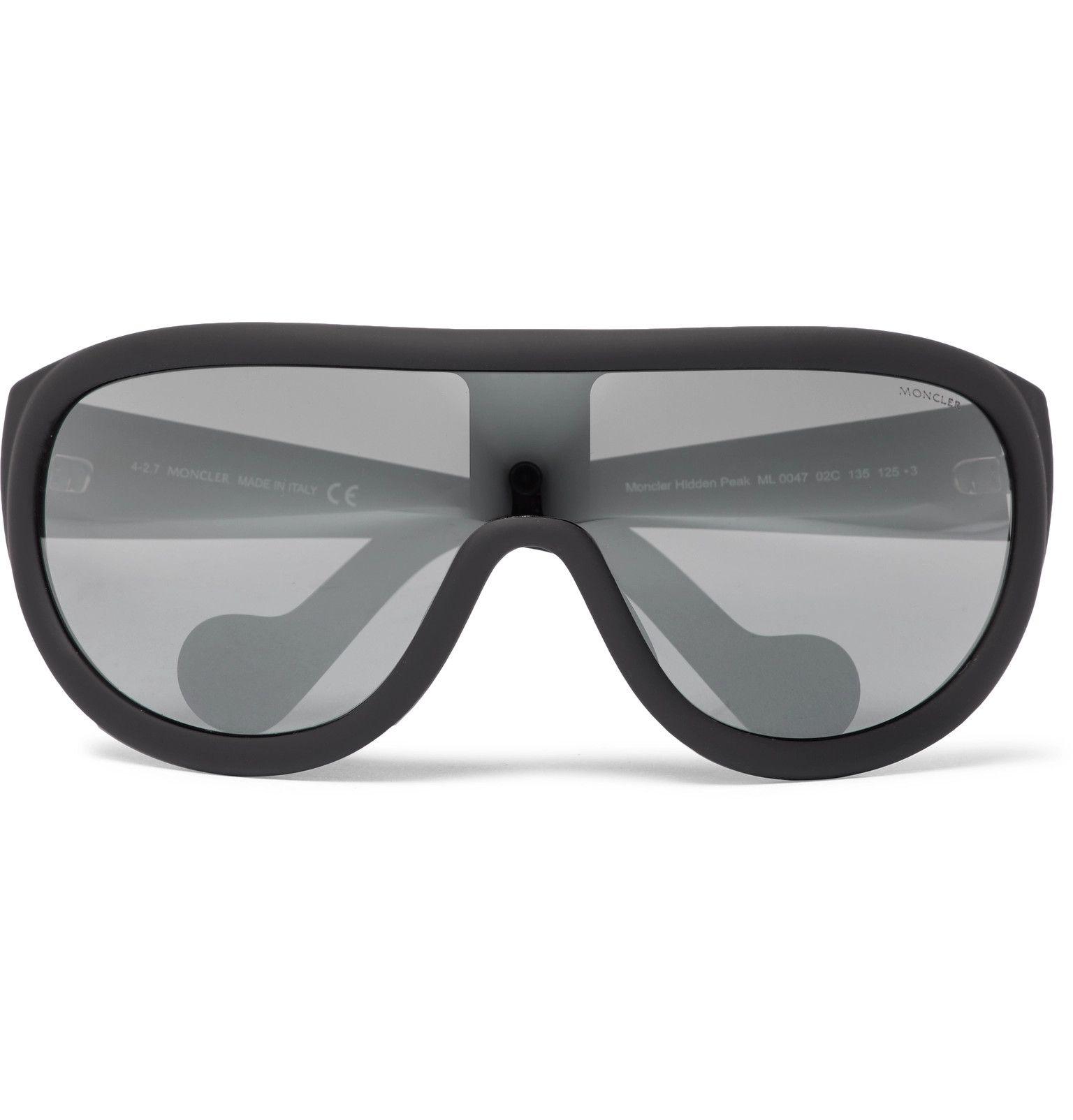 6d0209f84a78 Moncler - Acetate Ski Sunglasses   glasses in 2019   Ski sunglasses ...