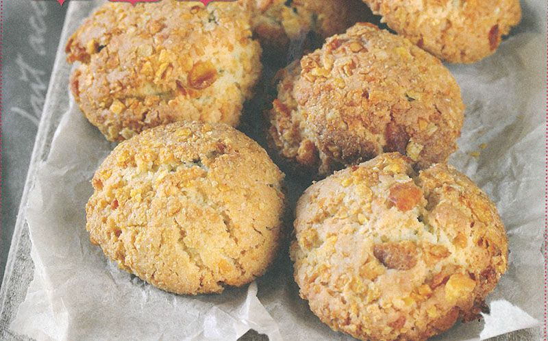 Resep Graanvlokkieenklapperkoekies Muffins, Biscuits