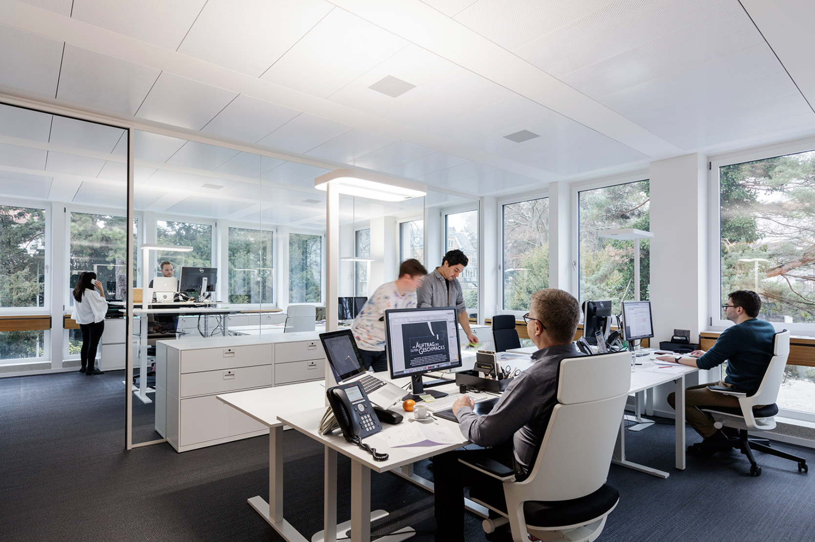 Innenarchitektur Zürich werbeagentur zürich büroräume innenarchitektur marc briefer gmbh