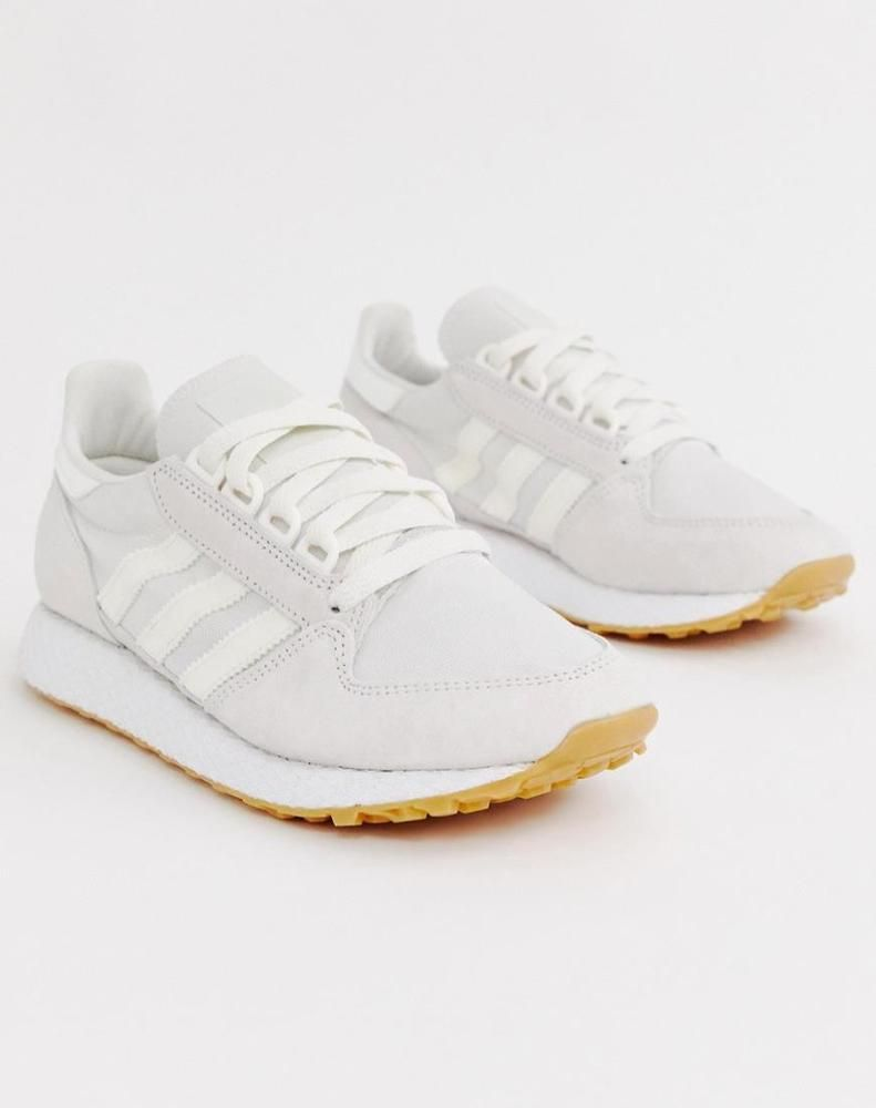 Adidas Originals Women S Shoes White Forest Grove Sneakers