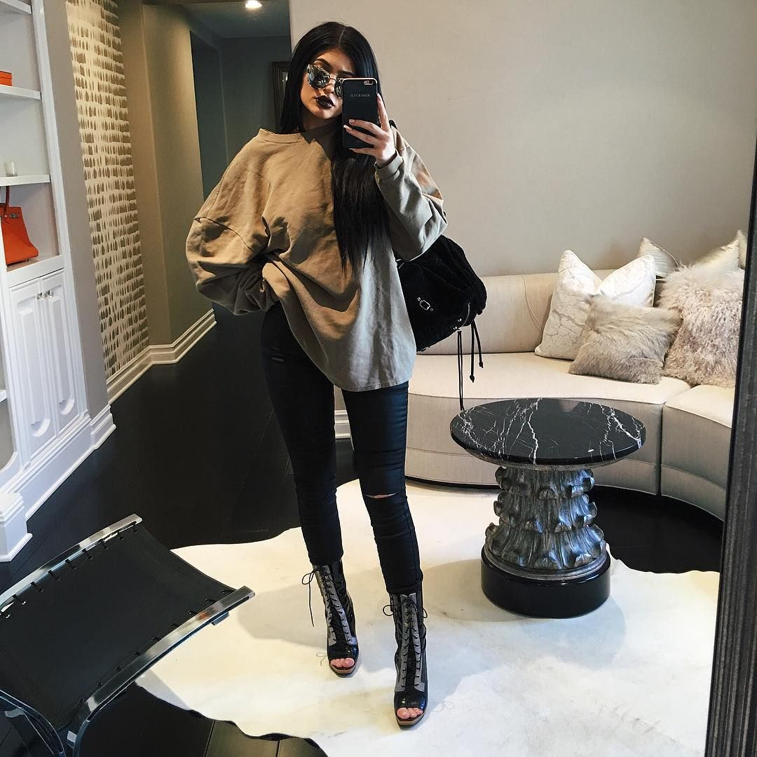 Shop The Look Kylie Jenner 39 S Fashion Laayyyed Pinterest Kylie Tyga And Kardashian