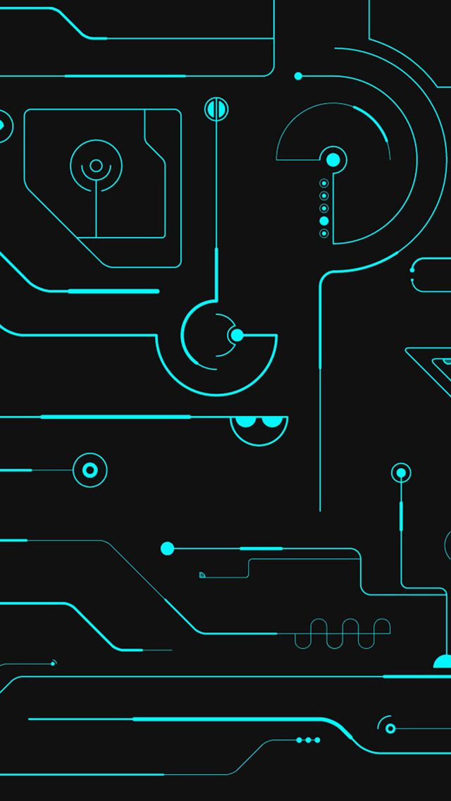 Pin By Elipsarte On Machinal Iphone 5s Wallpaper Tron Circuit Board Design