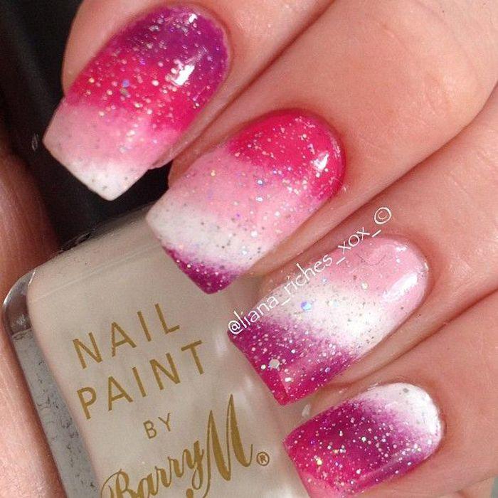 20 Beautiful Gradient Nail Art Designs Nagel Acrylnagels En Nagel