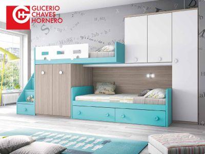 Literas Glicerio Chaves para Dormitorios Juvenilles. Catálogo ...