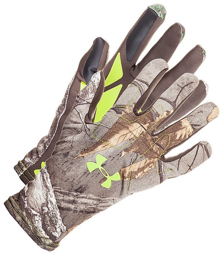 Under Armour Scent Control Gloves for Men | Bass Pro Shops: The Best Hunting, Fishing, Camping & Outdoor Gear