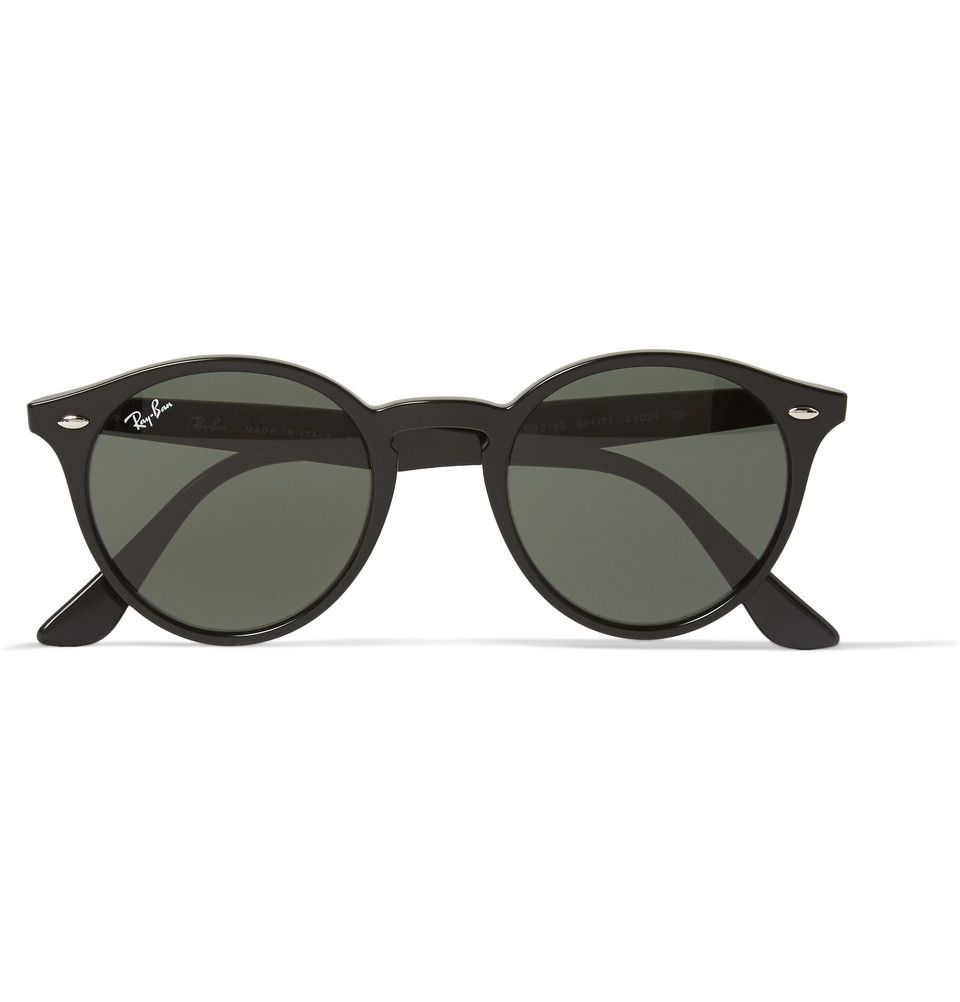 0bc14e1428743 Ray-Ban - 2180 Round-Frame Acetate Sunglasses   MR PORTER   Glasses ...
