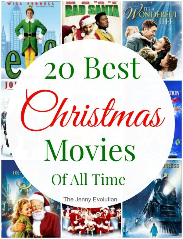 20 Best Christmas Movies Of All Time The Jenny Evolution Best Christmas Movies Christmas Movie Night Animated Christmas