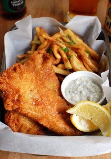 Resep Fish And Chips Dan Cara Membuat Bacaresepdulu Com Recipe Classic Fish And Chips Recipe Recipes Food